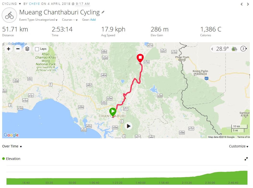 180404 Day 6 Chanthaburi to Pong Nam Rom